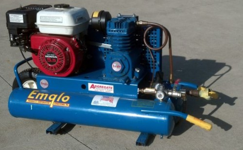 Gas Wheelbarrow Compressor